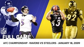 Download 2008 AFC Championship: Polamalu Delivers for the Steelers | Ravens vs. Steelers | NFL Full Game Video