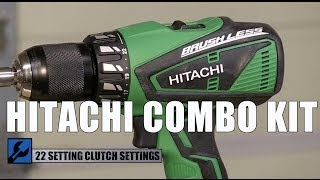 Download HItachi KC18DBFL Brushless Hammer Drill and Impact Driver kit Video