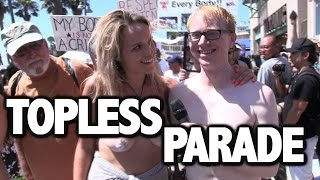 Download Joe Goes To The Topless Parade Video