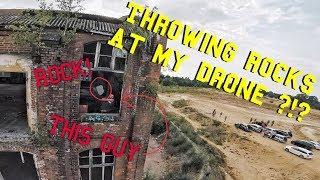 Download Guy Throws Rocks at my Drone Video