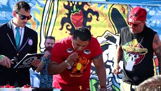 Download Guinness World Record Carolina Reaper Eating Contest 2017 Video