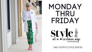 Download daily outfits   style over 50 Video