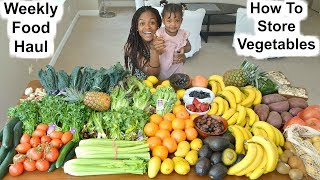 Download Our Weekly Food Haul + How to store vegetables in Fridge [Kitchen tips] Video