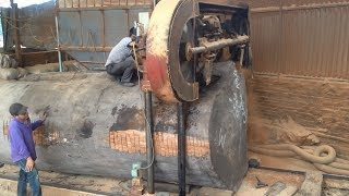 Download Awesome Biggest Wood Sawmill Fastest Cutting Work - Heavy Sawmill Machine WoodWorking Video