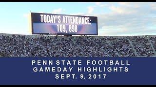 Download Penn State Football Gameday Highlights Sept 9, 2017 versus Pitt Video