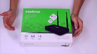 Download Roteador Intelbras WIN 300 Video