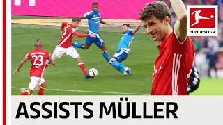 Download Thomas Müller - All Assists 2016/17 Season Video