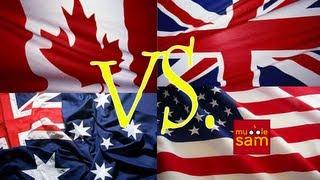 Download CANADA vs U.S.A vs AUSTRALIA vs UNITED KINGDOM Video