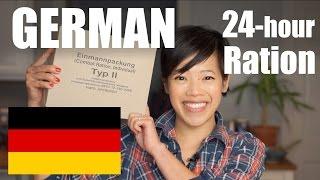 Download GERMAN 24-Hour Ration TASTE TEST | Einmannpackung Typ II Video