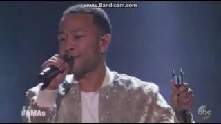 Download John Legend - Performance @ 2016 American Music Awards (Amas) Video
