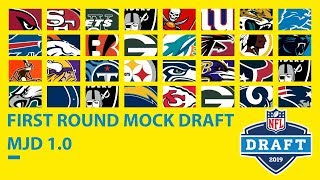 Download Full First Round 2019 Mock Draft: MJD 1.0 Video