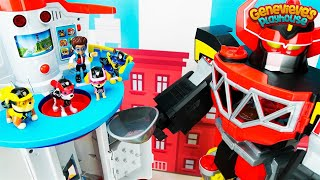 Download Color Learning Video for Kids Toy Paw Patrol Rescue Mission - Romeo's Megazord in Adventure Bay! Video