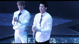 Download [fancam] 170211 EXO One and only Sehun laughed during the performance @ EXO'rdium in Hong Kong Video