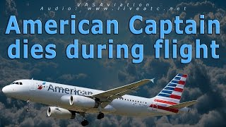 Download [REAL ATC] American Airlines CAPTAIN DIES IN FLIGHT Video