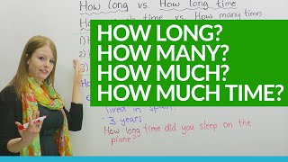 Download How to Ask Questions: HOW LONG, HOW MUCH... Video