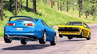 Download Realistic High Speed Crashes #30 - BeamNG Drive Video