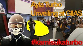 Download Ayla Turbo om mobi dibuka di GIIAS 2017 !! #kamisukaturbo Video
