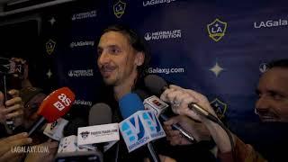 Download Zlatan Ibrahimovic speaks after scoring a brace vs. Toronto FC Video