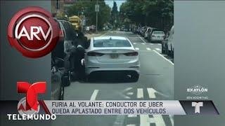Download Fuertes imágenes de violenta pelea entre dos conductores | Al Rojo Vivo | Telemundo Video