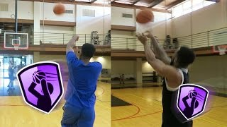 Download Limitless Range Basketball Challenge! Who Can Shoot Farthest 3 Point Range?! Muscle vs. Accuracy! Video