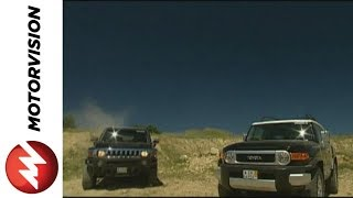 Download Hummer H3 vs. Toyota FJ Cruiser Video