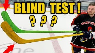 Download Blind performance hockey stick test - Big Manufacturer vs New Small Brand Video