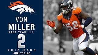 Download #2: Von Miller (LB, Broncos) | Top 100 Players of 2017 | NFL Video