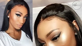 Download HAIR | GLUELESS LACE FRONTAL WIG INSTALLATION! Video