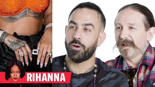 Download Tattoo Artists Critique Rihanna, Justin Bieber, and More Celebrity Tattoos | GQ Video