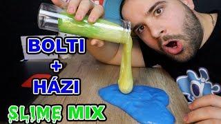 Download HÁZI + BOLTI #SLIME #MIX ! | JOBB vagy ROSSZABB LETT ???? Video