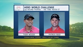 Download Morning Drive: Tiger Woods paired with Patrick Reed for Hero World Challenge | Golf Channel Video
