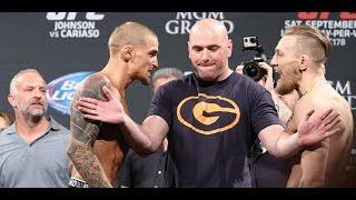 Download UFC 178 Weigh-Ins: Conor McGregor and Dustin Poirier Explode Video