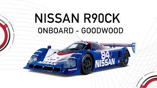 Download Amazing Onboard - Nissan R90CK 'Le Mans Pole Car' running at Goodwood (driven by Max Chilton) Video
