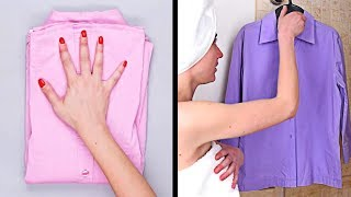 Download DIY Clothing Hacks | Clever Ways To Get Organized and More Cleaning Ideas by Blossom Video