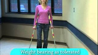 Download How to use canes, crutches and walkers after surgery Video