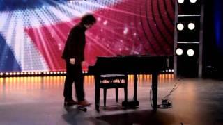 Download World most amazing Piano player ? - Bogdan Alin Ota - Harald's Dream - Norske Talenter 2011 Video