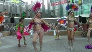 Download サンバチーム「ブリンカール」 1  池田商業祭2011 Video