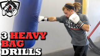 Download 3 Excellent Heavy Bag Drills for MMA, Muay Thai, & Boxing Video