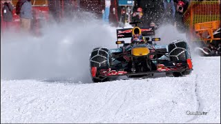 Download Max Verstappen Runs F1 Car Through Snow | Xtreme CollXtion Video