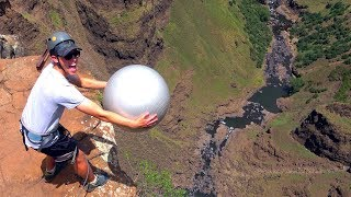 Download Exercise Ball Magnus Effect from 200m!! Video