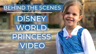 Download Singing Every Princess Song at Disney World - Behind The Scenes!! Video