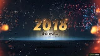 Download 5 Awesome After Effects Templates for Happy New Year 2018 Video