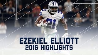 Download Ezekiel Elliott's Record-Breaking First 10 Games (2016 Highlights) | NFL Video