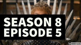 Download CERSEI'S END?//SEASON 8 E05//GAME OF THRONES//THEORY Video