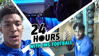 Download IMG Academy Took Us Around Their INSANE CAMPUS! Epic Locker Room, Weight Room & TV By The POOL! Video
