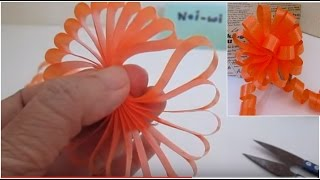 Download โบติดของขวัญ สวยและง่ายมากๆ # How to make an eazy bow Video
