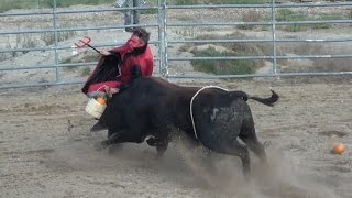 Download Insane Bull Fight Challenge: Jaw Broken!!! Video