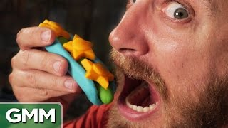 Download Making Real Food w/ Play-Doh Toys Video