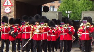 Download The Band of the Welsh Guards, Changing the Guard at Windsor - 18th August 2016 Video