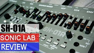 Download Sonic LAB: Roland SH-O1A Boutique Synthesizer Video